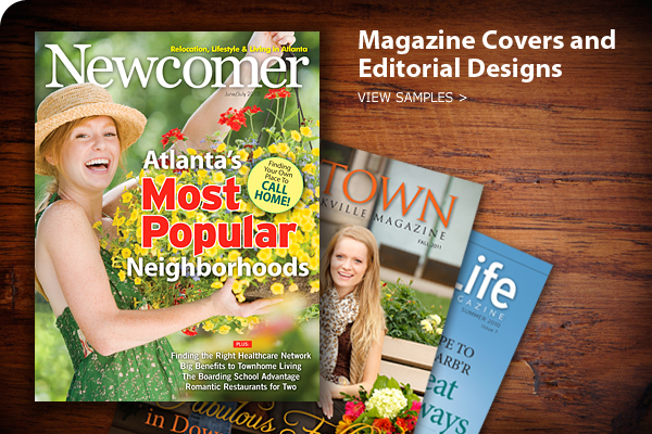 Magazine Designer and Editorial Designer